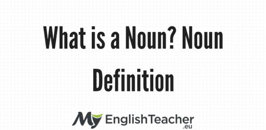 Noun Definition