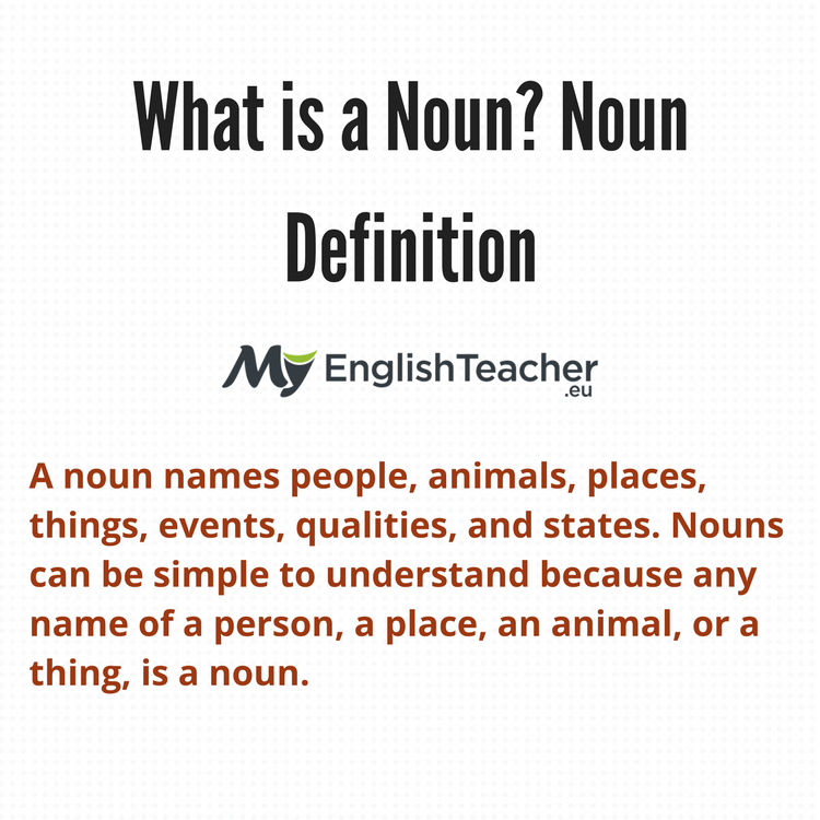 Noun Definition Myenglishteacher Eu Blog