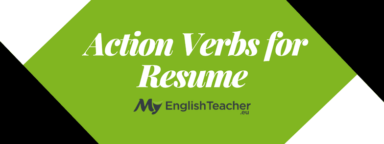 14 action verbs for resume  action verbs list with example
