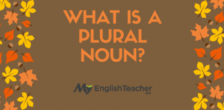 Plural Nouns. What is a Plural Noun