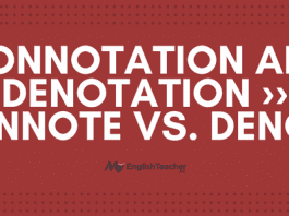 Connotation and Denotation ›› Connote vs. Denote