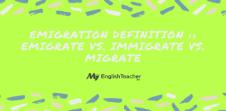 Emigration Definition ›› Emigrate vs. Immigrate vs. Migrate