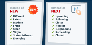Synonyms for new, next, things, feel