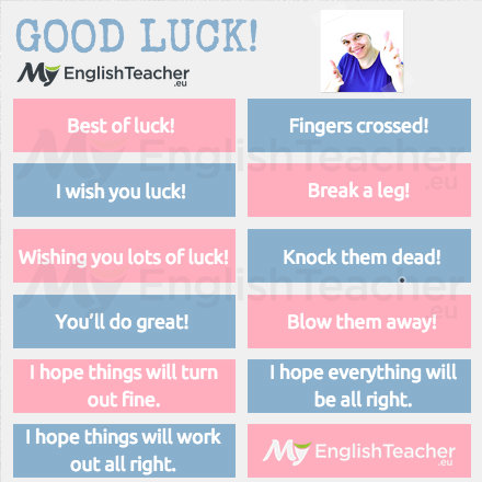 15 Good Luck Sayings Other Ways To Say Good Luck Myenglishteacher Eu Synonyms, antonyms & associated words(0.00 / 0 votes)rate these synonyms: 15 good luck sayings other ways to say