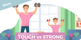 TOUGH vs STRONG