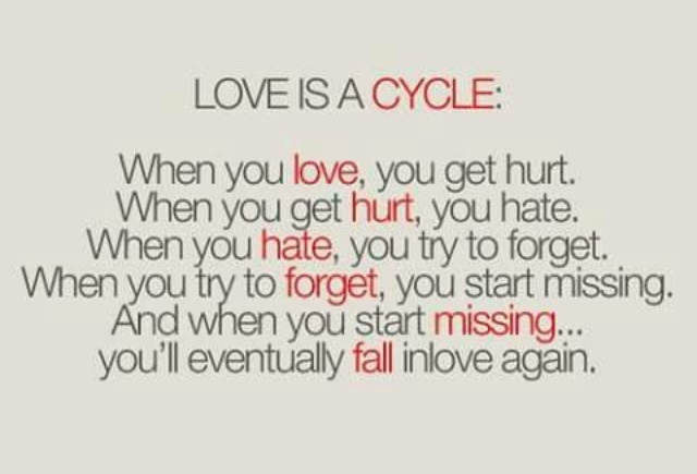 love is a cycle