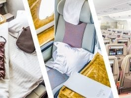 business class vs first class vs economy