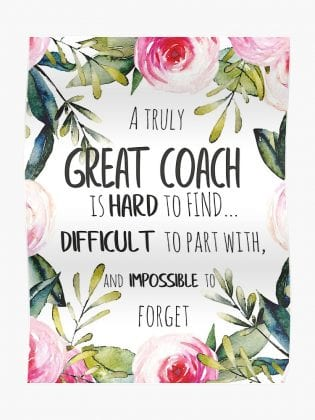 a truly great coach is hard to find
