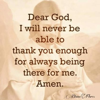 thank you quotes to god