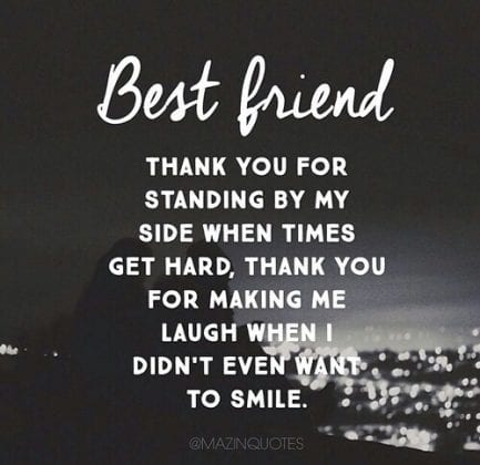 thank you quotes for friends