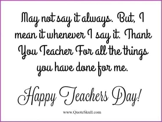 thank you quotes for teachers 7