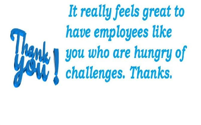 thank you quotes to employees