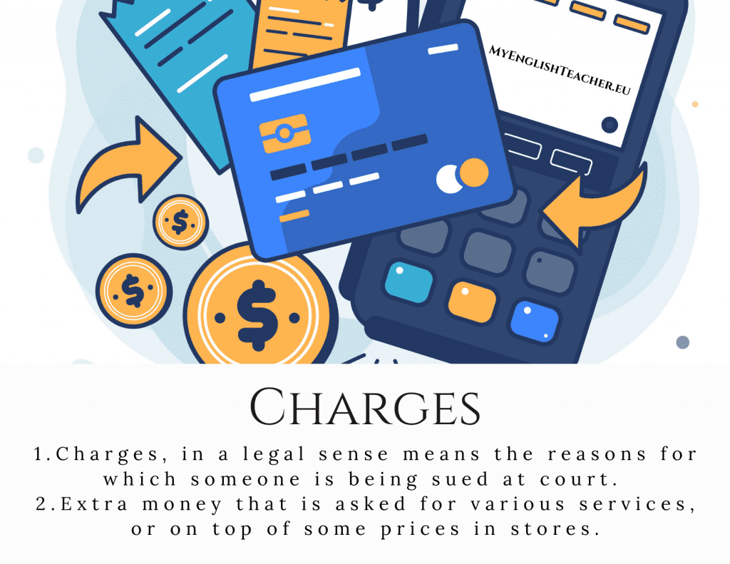 Charges meaning