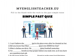 Simple Past Quiz