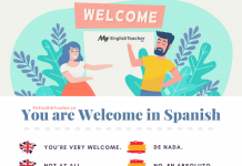 you are welcome in spanish