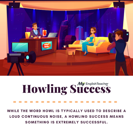 Be a howling success