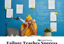 Failure Teaches Success meaning