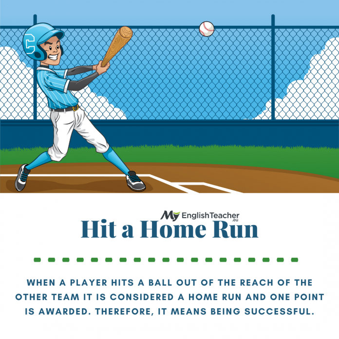 hit a home run meaning