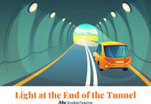 Light at the End of the Tunnel image meaning