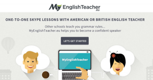 one-to-one Skype English lessons