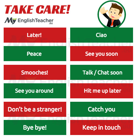 other ways to say take care