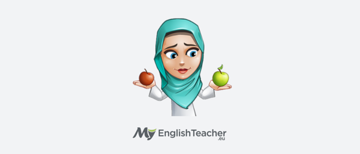 Difference Between, Arabian girl with apples, contrast, separating
