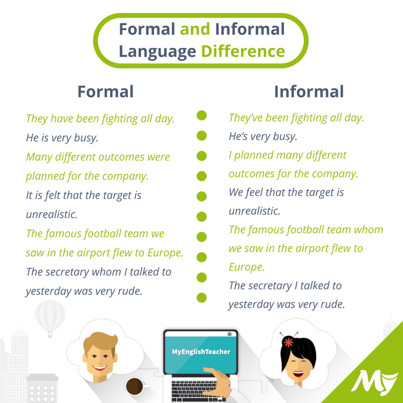 Formal and informal language difference myenglishteacher forum formal and informal language difference myenglishteacher forum myenglishteacher forum m4hsunfo